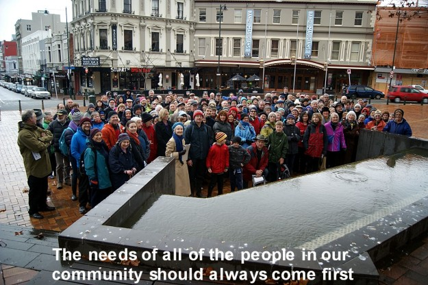 The needs of the people