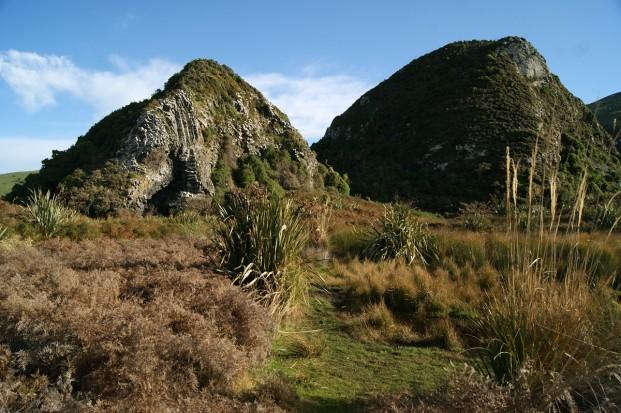 The pyramid landscape